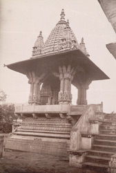 Temple at Amber, Jeypore.